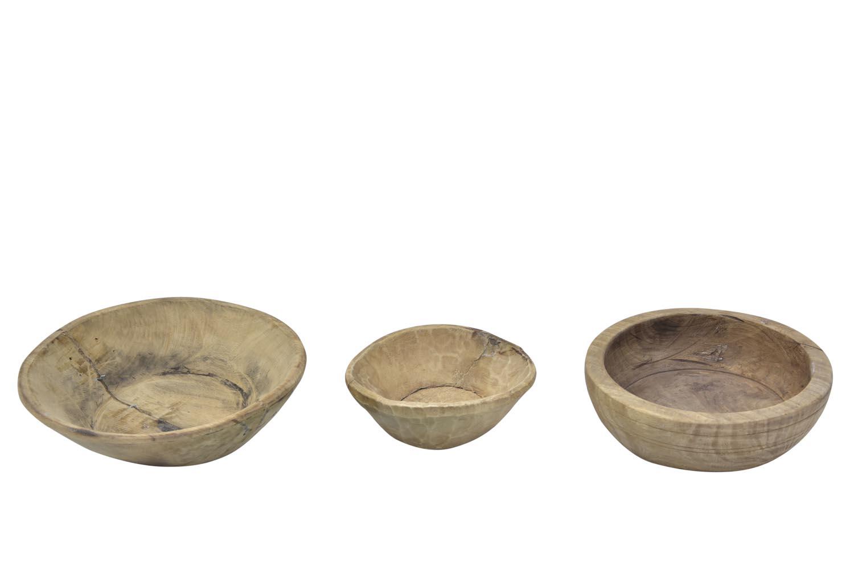 Authentiek indische houten diepe schaal ajc meubelen for Indische accessoires