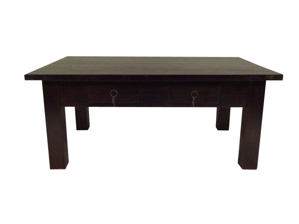 Wonderlijk Koloniale salontafel met lades | AJC Meubelen MZ-87