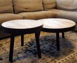 Tripod set salontafels